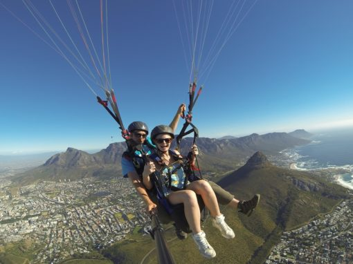 Tandem Paragliding Experience